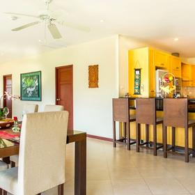Club Tropical - Baan Puri Dining Area and Kitchen