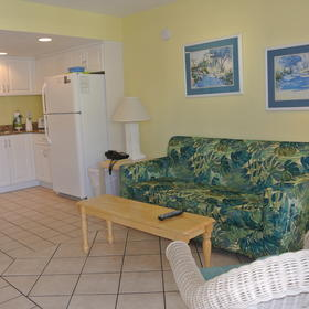Sand and Surf Condominium — Living Area