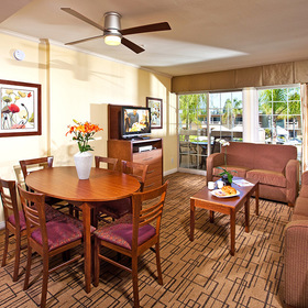 Winners Circle Resort Living Area