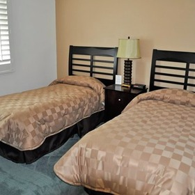 Sand Pebbles Resort Bedroom