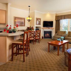 WorldMark Solvang Living Area