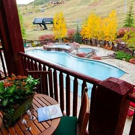 The Ritz-Carlton Club, Aspen Highlands Balcony