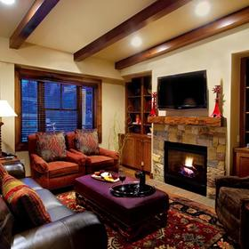 The Innsbruck Aspen Living Area