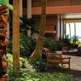 Marriott's Maui Ocean Club Lobby