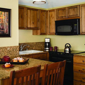 Marriott's Mountain Valley Lodge Studio Kitchen