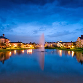 Disney's Saratoga Springs Resort & Spa Village Lake