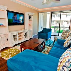 The Sea Pines Resort Living Area