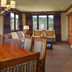 Sheraton Steamboat Resort Villas Dining and Living Area