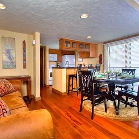 The Rockies Condominiums Living and Dining Areas