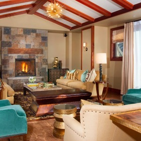 Four Seasons Residence Club Vail Living Area