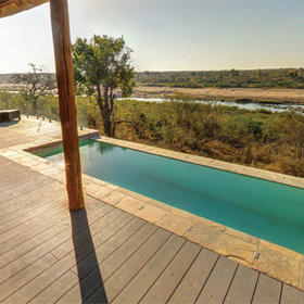 Mjejane River Lodge — Pool