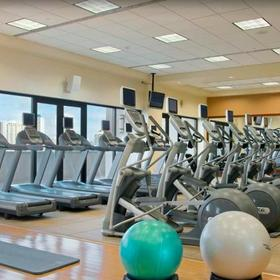 Hilton Grand Vacations Club (HGVC) at The Lagoon Tower Fitness Center
