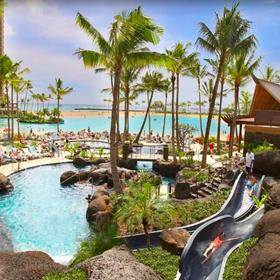 Hilton Grand Vacations Club (HGVC) at The Grand Waikikian Pool
