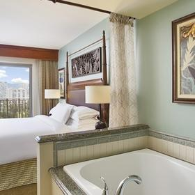 Hilton Grand Vacations Club (HGVC) at The Grand Waikikian Master Bathroom