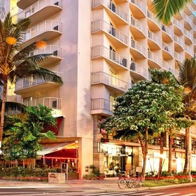 Wyndham at Waikiki Beach Walk Exterior