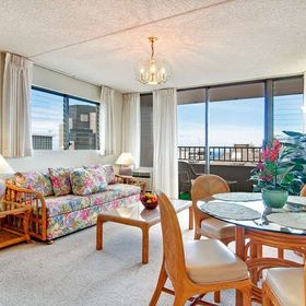 Royal Kuhio — Living and Dining Area