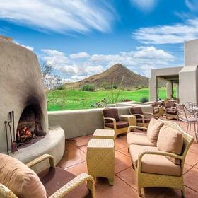 Starr Pass Golf Suites Outdoor Sitting Area