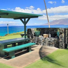 Kihei Surfside Resort Barbecue Area