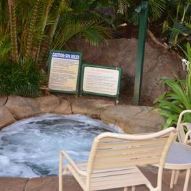 Kahana Falls Hot Tub