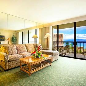 Kaanapali Shores — Living Area