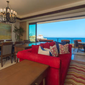 Grand Solmar Land's End Resort Living Area