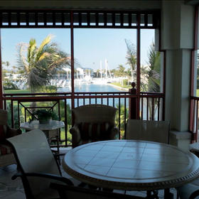 Harbourview Villas at South Seas Resort Screened Balcony