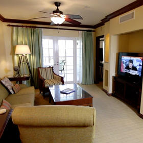 Harbourview Villas at South Seas Resort Living Area
