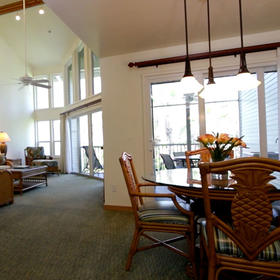 The Cottages at South Seas Island Resort Dining Area