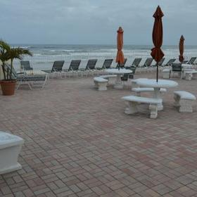 Beach Island Resort — Deck Area