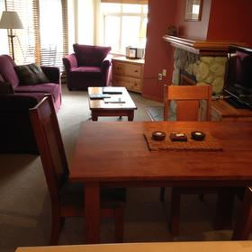 Whistler Vacation Club at Lake Placid Lodge — Sleeper sofa, gas FP