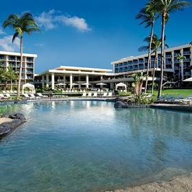Marriott's Waikoloa Ocean Club Infinity Pool