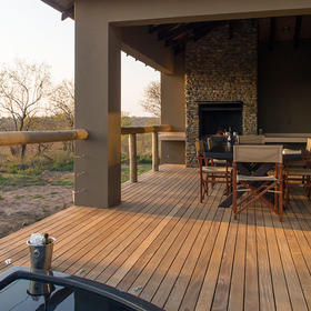 Mjejane Bush Camp Deck