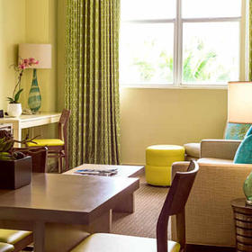 Marriott Vacation Club Pulse, South Beach Living Area