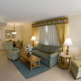 Fort Lauderdale Beach Resort Living Area