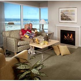 The Resort at Seaside - Unit Living Area