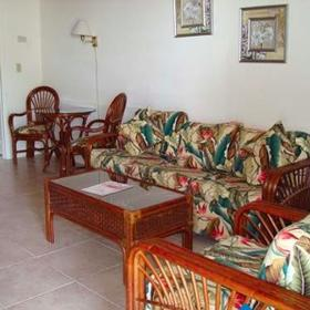 Matecumbe Resort Living Area