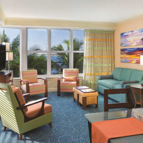 Marriott's Ocean Pointe Living Area