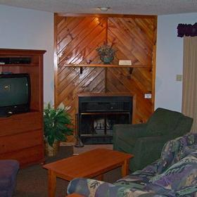 Quail Hollow Village at Beech Mountain Lakes Living Area
