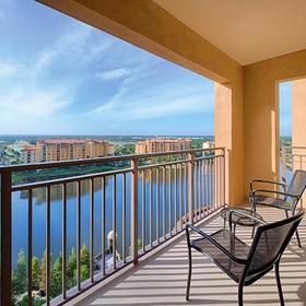 Wyndham Bonnet Creek Resort Balcony