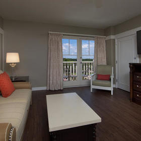 Disney's BoardWalk Villas Living Area