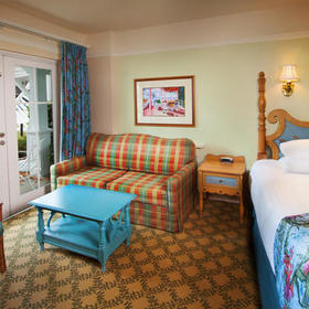 Disney's Beach Club Villas Bedroom