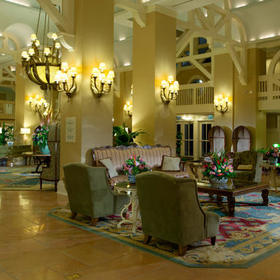 Disney's Beach Club Villas Lobby