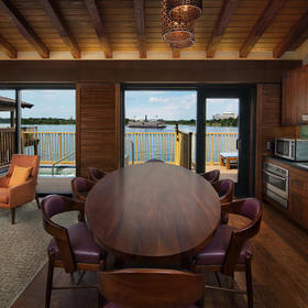 Disney's Polynesian Villas & Bungalows Bungalow Dining Area