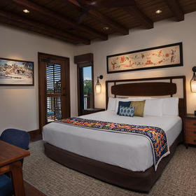 Disney's Polynesian Villas & Bungalows Bungalow Bedroom