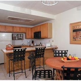 WorldMark La Paloma Resort — - Unit Dining Area & Kitchen