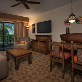 Disney's Animal Kingdom Villas - Jambo House Living Area
