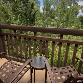 Boulder Ridge Villas at Disney's Wilderness Lodge Balcony