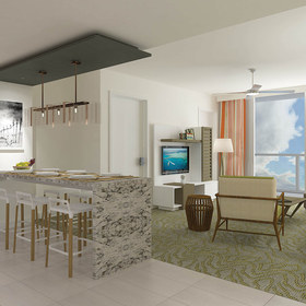 Wyndham Clearwater Beach Resort — Living Area