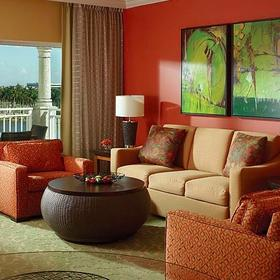 Marriott's Villas at Doral Living Area