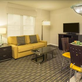 Hilton Grand Vacations Club (HGVC) at McAlpin-Ocean Plaza Living Area